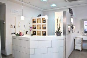Centro de estética Tomy, tienda